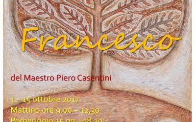 Il Maestro Piero Casentini a Poggio Bustone
