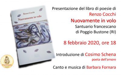 Presentazione del libro di poesie di Renzo Cocchi