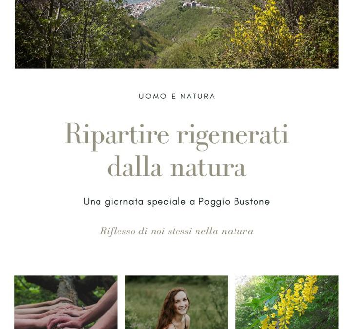 Ripartire rigenerati dalla natura