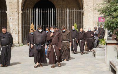 """800 anni della Regola """"non bollata"""": i frati del Centro Italia si ritrovano nella Valle Santa"""